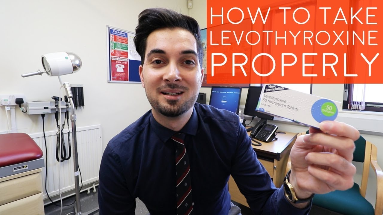 How To Take Levothyroxine Properly | Best Way To Take Thyroid Medication |  When To Take Synthroid
