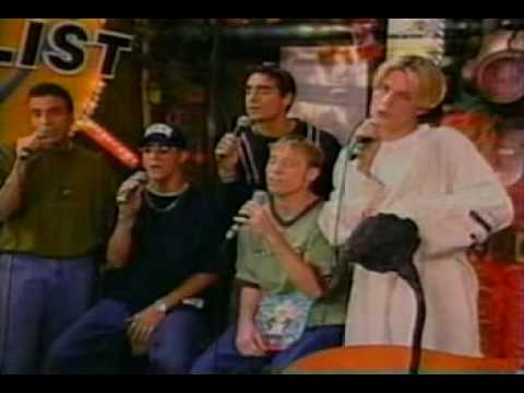 Backstreet Boys interview on YTV 1996