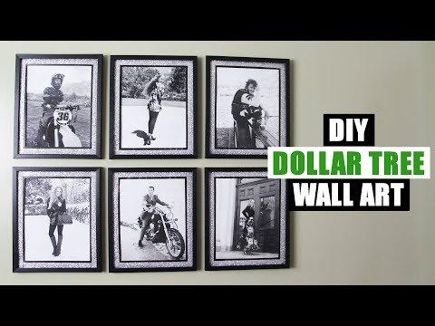 DIY DOLLAR TREE GLITTER WALL ART DIY Glam Home Decor