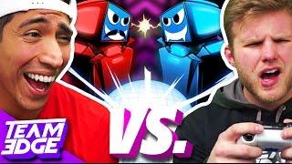 Robot Roller-Derby Disco Dodgeball Challenge!