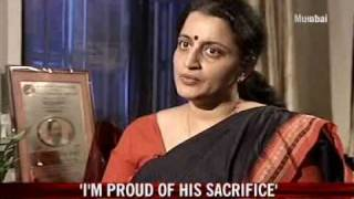 I'm proud of his sacrifice: Karkare's wife
