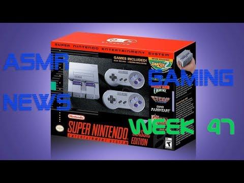 ASMR Gaming News (Week 47) SNES Classic Mini, PS5, Nintendo, Crash Trilogy, Elite Dangerous + More!