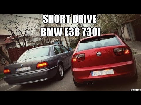 Test video, driving a BMW E38 730i !