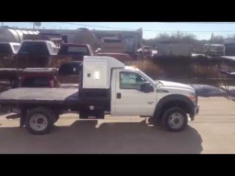Flatbed For Sale >> Custom Sleeper on Ford flatbed - YouTube
