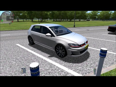 City Car Driving 1.4.1 Volkswagen Golf GTI Gameplay With Logitech G27! (60 FPS)