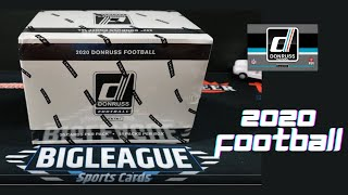 2020 Donruss Football FATPACK BOX