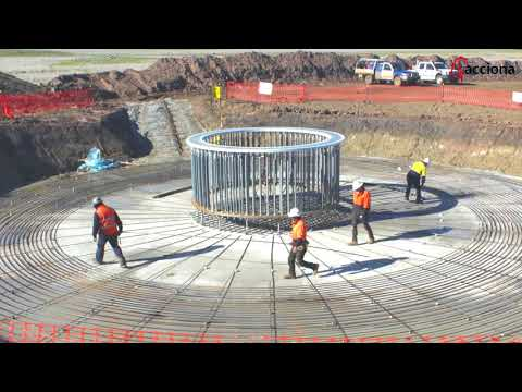 Foundation works at Mt Gellibrand Wind Farm, Australia | ACCIONA