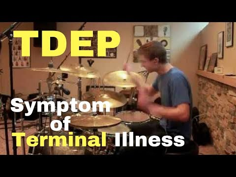 The Dillinger Escape Plan  Symptom of Terminal Illness drum