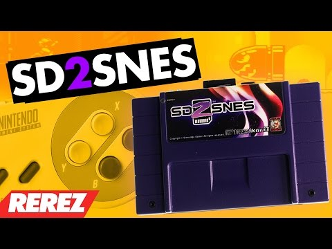 Super Enhanced SNES Games - SD2SNES Review - Rare Obscure or Retro - Rerez