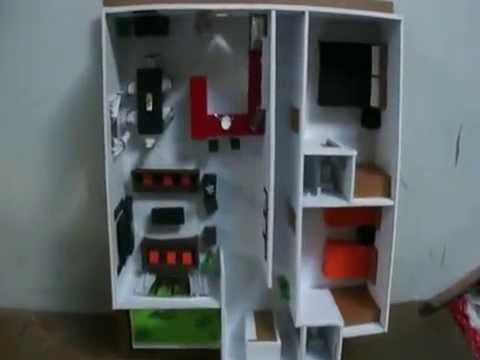 Casa papel maqueta 3 youtube - Como hacer plano de casa ...