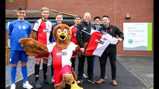 Kidderminster Harriers FC and HOW College Football Academy