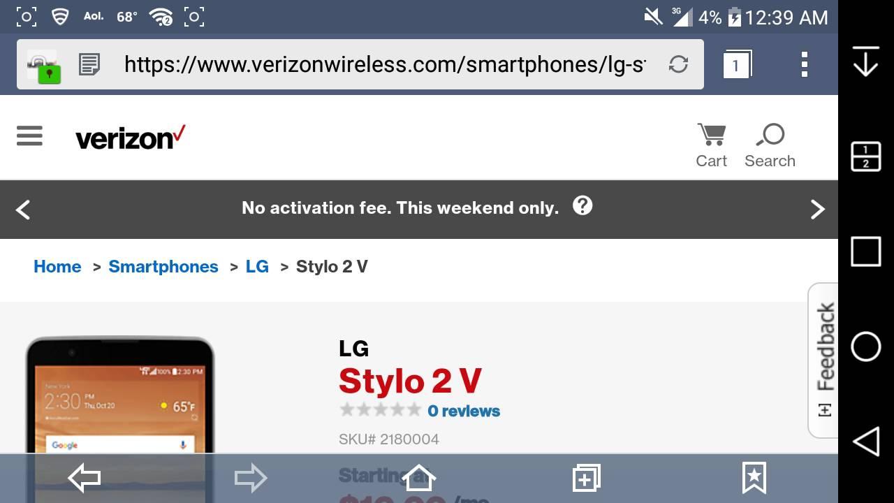 LG Stylo™ 2 V | Verizon Wireless