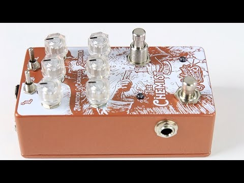 Matthews Effects The Chemist (Chorus/Vibrato, Phaser, Octave)