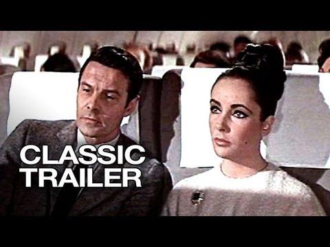 The V.I.P.s (1963) Official Trailer #1 - Elizabeth Taylor Movie HD