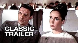 The V.I.P.s (1963) Official Trailer #1 - Elizabeth Taylor Movie HD