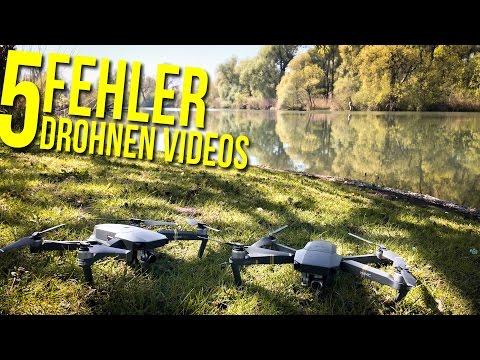 5 Drohnen Anfängerfehler | cinematische Videos 📸 FOTOGRAFIE VLOG DEUTSCH