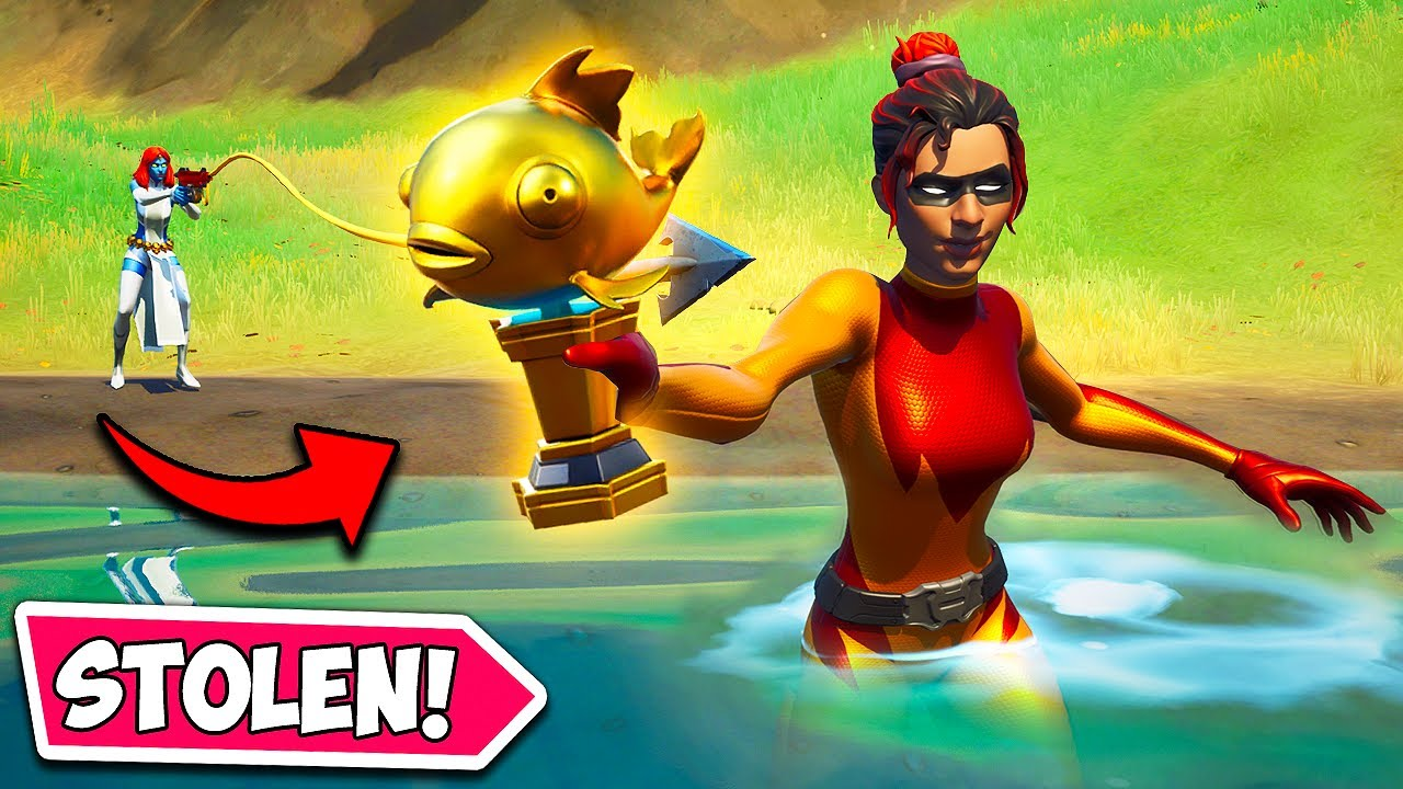*NEW* STOLEN MYTHIC FISH!! (0.001% CHANCE!) - Fortnite Funny Fails and WTF Moments! #1059