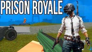 WINNER WINNER CHICKEN DINNER!! - Prison Royale Gameplay (ROBLOX PUBG)