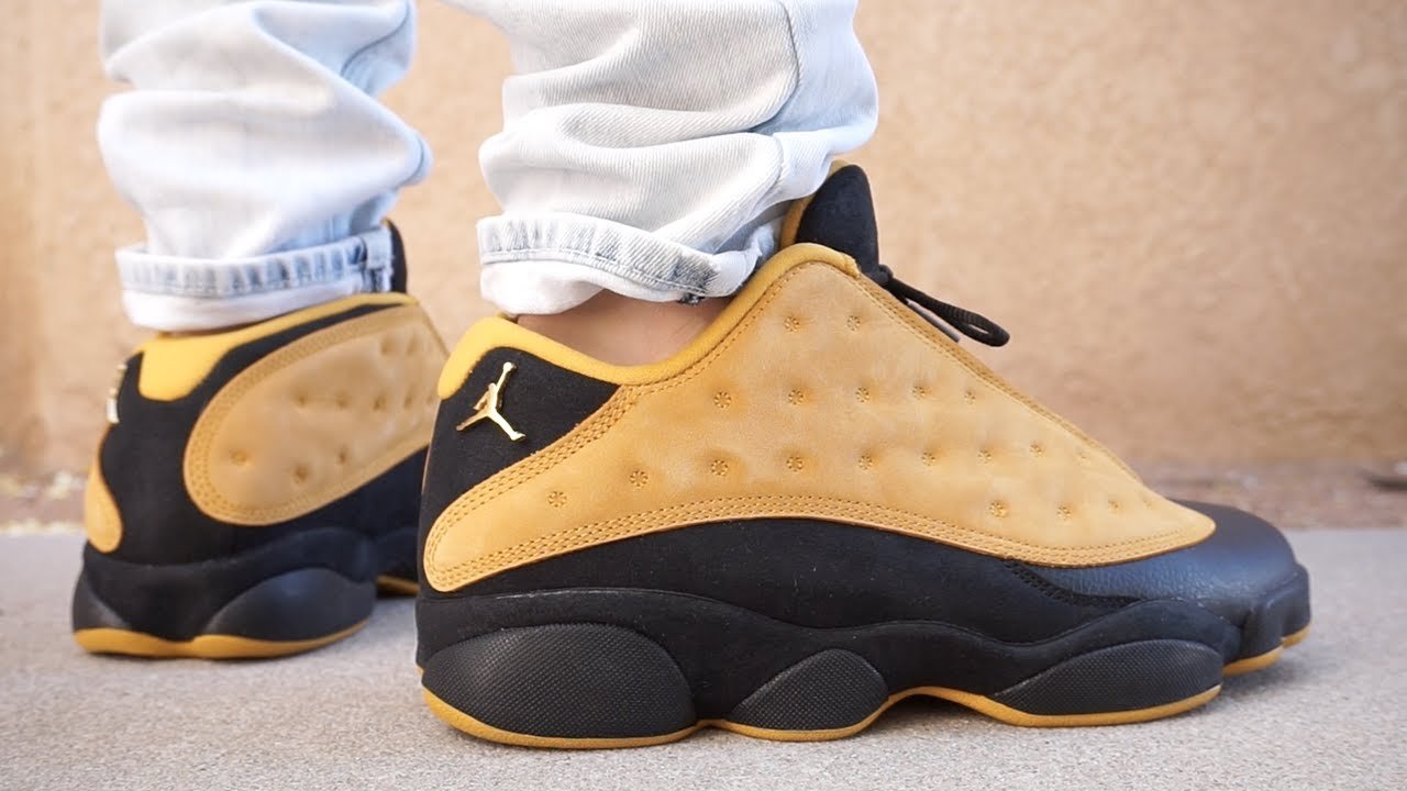 NIKE AIR JORDAN RETRO 13 LOW CHUTNEY EARLY UP CLOSE LOOK !!! ON FOOT !!!  2017 11ce58637