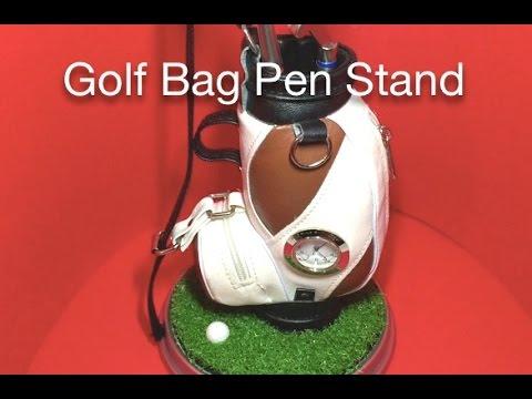 Golf Bag Pen Stand