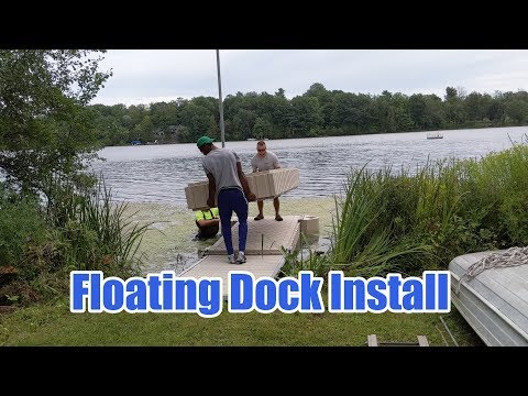 Floating Dock Install