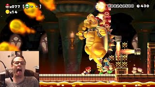 Mario Maker - Bowsers Are Red, But Mario's Blue   Super Expert Is A Pile of Poo #11