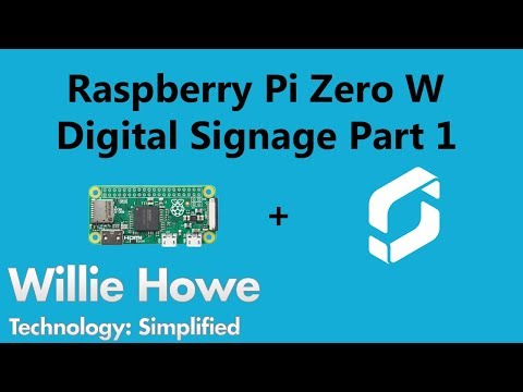 Digital Signage With Raspberry Pi! -Part 1