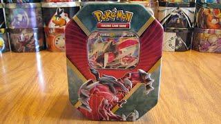 Pokemon Shiny Yveltal EX Tin Opening