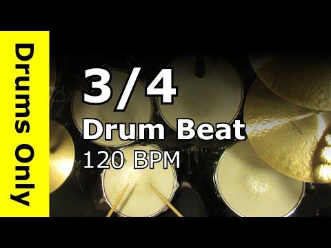 3/4-drum-track-120-bpm