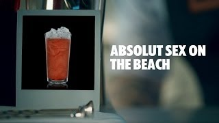 ABSOLUT SEX ON THE BEACH DRINK RECIPE - HOW TO MIX