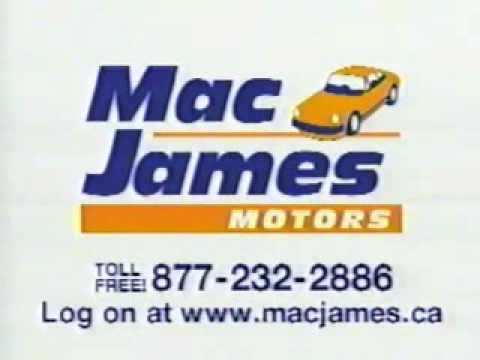 MAC JAMES MOTORS THROWBACK – Fix Your Credit Commercial with Jingle   Bad Credit Car Loans