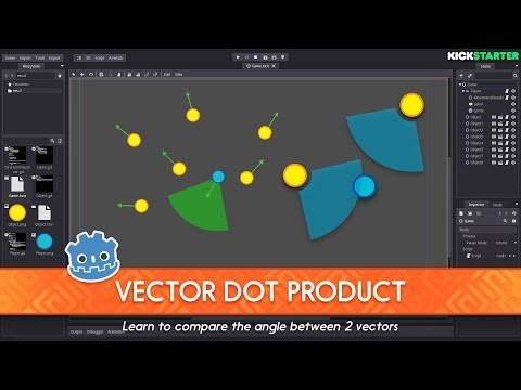 Intro to the Vector Dot Product: How to code a Field of View in Godot