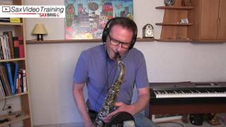 Darn That Dream Tenor Saxophone Cover - DailySax 133 soft and fluff...