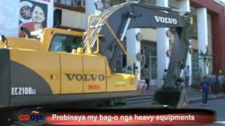 Antique nagbakal kang mga bag-o nga heavy equipments
