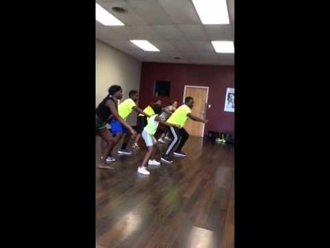 Whip/Nae Nae Zumba exercise