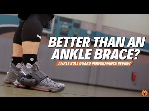 BETTER THAN AN ANKLE BRACE? | Ankle Roll Guard Performance Review