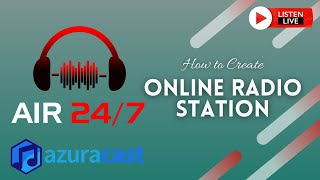How to Create Online Radio Stations Free with Azuracast Web Radio Broadcasting Software   Part 1 screenshot 3