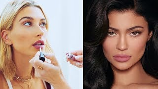 Can Hailey Baldwin Overtake Kylie Jenner As The Queen Of Cosmetics?