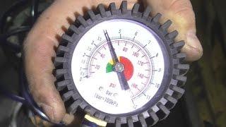 Как измерять давление топлива Chevrolet Aveo 1.6 .