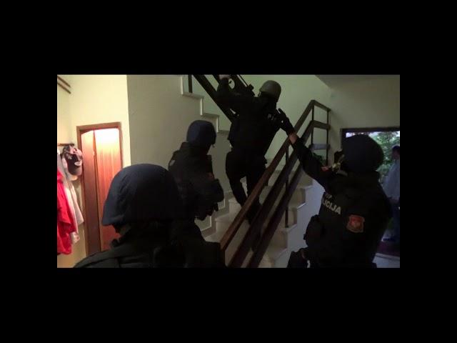 Portal Antena M- policijska akcija Budva 12102017