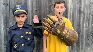 Хайди и Зидан играют в полицию - Забавная история