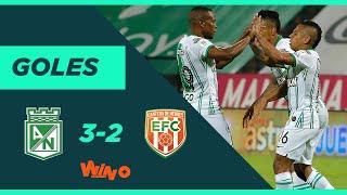 Nacional vs Envigado (3-2) Liga BetPlay Dimayor 2020   Fecha 11