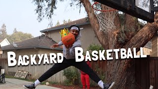 THE BACKYARD BASKETBALL CHALLENGE!! *HILARIOUS*