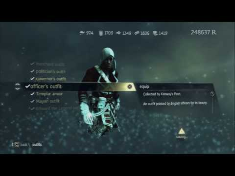 "Assassins Creed 4 Black Flag ""Tutorial""  How to Unlock The Officers Outfit"