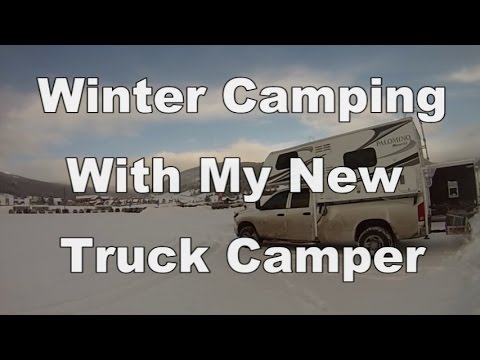 Winter camping with my new truck camper youtube winter camping with my new truck camper sciox Choice Image