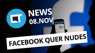 Facebook quer seus nudes; Uber e Nasa vão criar táxis voadores e+ [CT News]