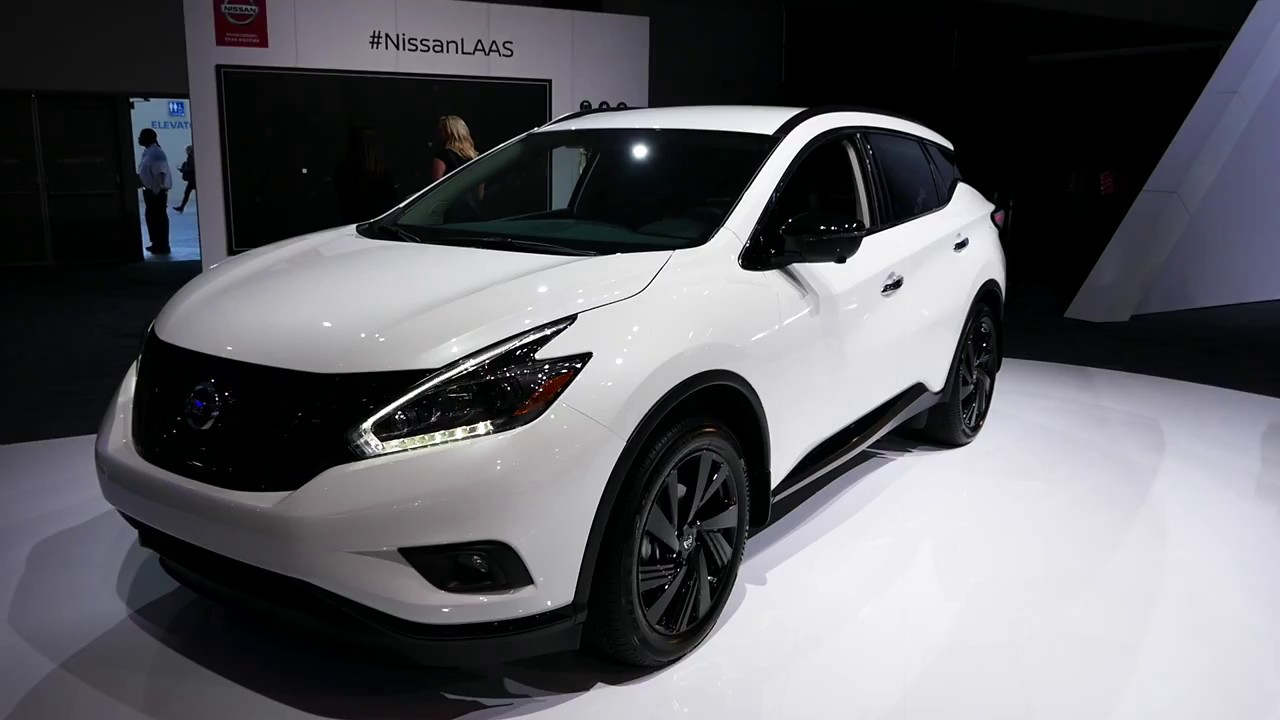 new 2018 nissan murano sl awd suv exterior tour 2017 la auto show los angeles ca youtube. Black Bedroom Furniture Sets. Home Design Ideas