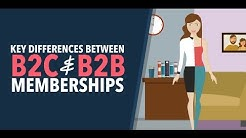 4 Key Differences Between B2C and B2B Membership Websites
