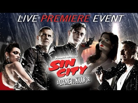 Sin City: A Dame to Kill For Premiere – CineFix is LIVE from the Red Carpet!