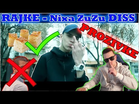 RAJKE - Nixa Zuzu Diss Track *REAKCIJA*